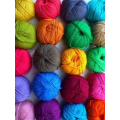 Painted yarns Fabrics